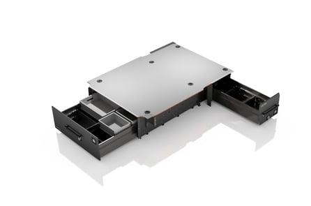 Komplett Smartfloor til Caddy Maxi med 1 skyvedør