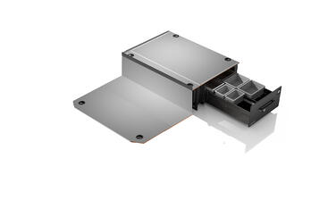 Smartfloor frontmodul til Transporter kort med 1 skyvedør