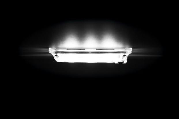 LED lampe i varebil