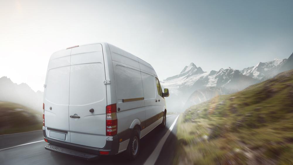 Smartfloor Perfekt som campinginnredning i varebilen